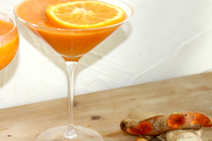 Feed Me Vegan For All Occasions - Ginger Carrot & Orange Juice