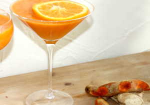 Ginger, Carrot & Orange Juice from Feed Me Vegan: For All Occasions