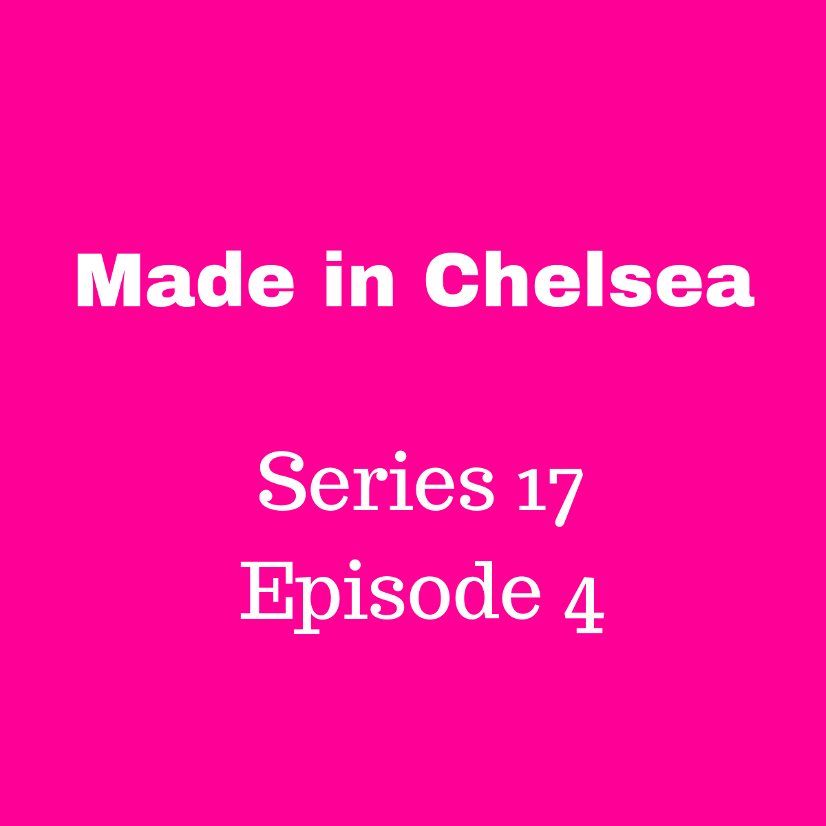 Made in Chelsea: the one where Jamie has a secret   An Idol Mind